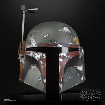 Hasbro Star Wars Black Series Boba Fett 1:1 Scale Wearable Helmet (Electronic)
